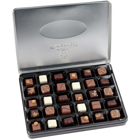Assortiment de chocolats noir,lait,blanc 300g - CHEVALIERS D'ARGOUGES