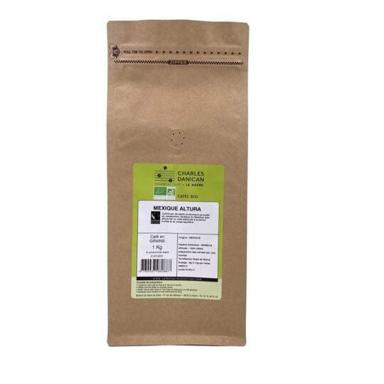 Café Mexique Bio 1kg Grains