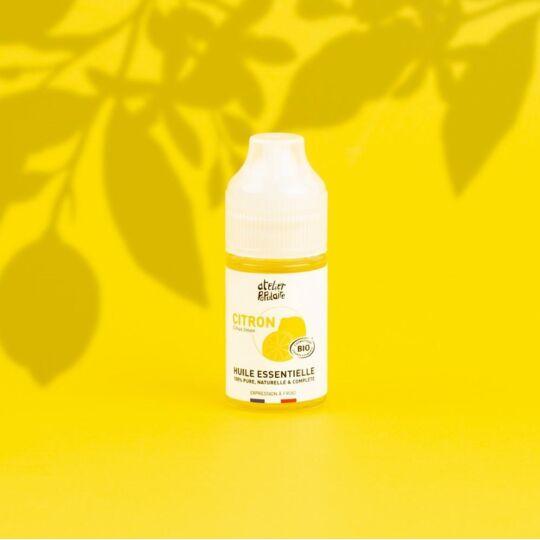 Huile Essentielle Bio Citron 30ml, Atelier Populaire ATELIER POPULAIRE