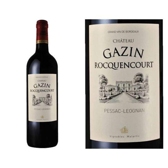 Château Gazin Rocquencourt Rouge 2014 - Vin  Rouge