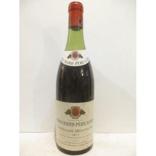 Chassagne-montrachet Bouchard Père Et Fils Rouge 1971 - Bourgogne BOUCHARD PÈRE ET FILS