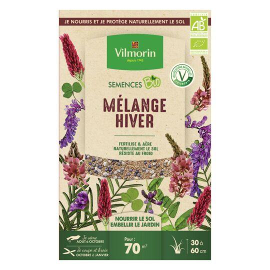 Graines  Mélange Hiver Bio , Boite De 250 Grs VILMORIN