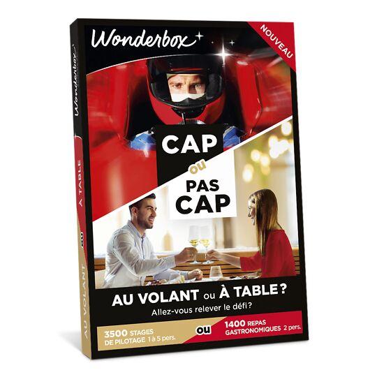Cap Ou Pas Cap - Au Volant Ou À Table ? WONDERBOX