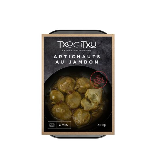 Artichauts Au Jambon