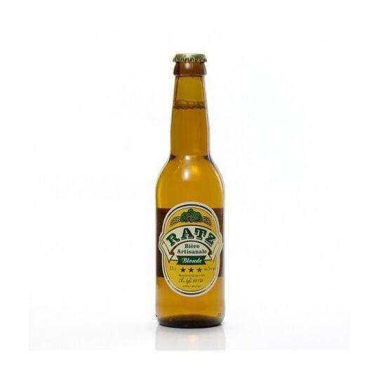 Bière Blonde Artisanale Du Quercy Brasserie Ratz, 33cl BRASSERIE CHRISTOPHE RATZ