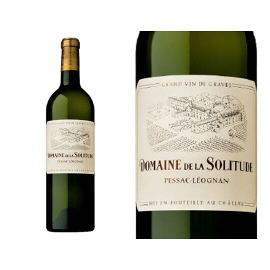 Domaine De La Solitude Blanc 2015 - Vin  Blanc