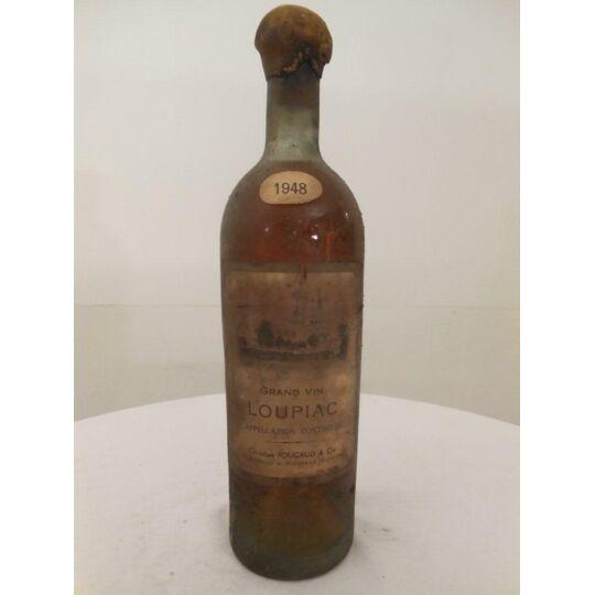 Loupiac Christian Foucaud Liquoreux 1948 - Bordeaux.