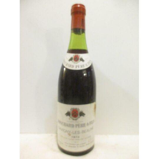 Savigny Bouchard Père Et Fils Rouge 1972 - Bourgogne BOUCHARD PÈRE ET FILS