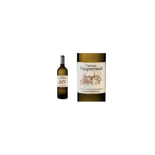Château Puygueraud Blanc 2017 - Vin  Blanc