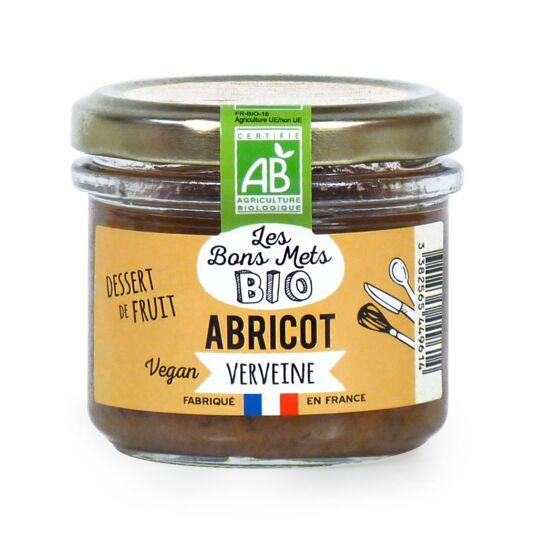 Dessert de fruit Abricot et Verveine LES BONS METS BIO