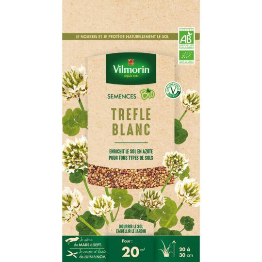 Graines De Trefle Blanc Bio , Sachet De 60 Grs VILMORIN