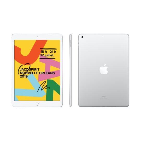 iPad 2019 10,2 - 128 Go - WiFi - MW782NF/A - Argent