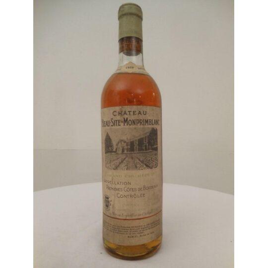 Premières Côtes De Bordeaux Château Monprimblanc Liquoreux 1955 - Bordeaux.