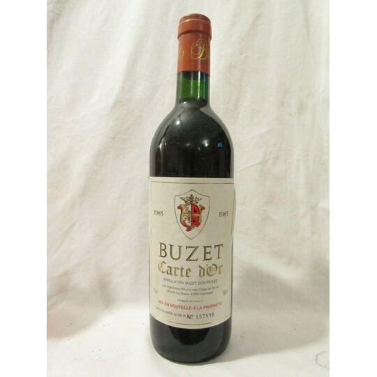 Buzet Carte D'or Rouge 1985 - Sud-ouest CARTE D'OR