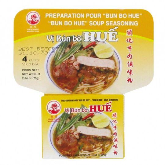 Assaisonnement Pour Soupe Bun Bo Hue / Épices En Cubes - Aide À La Pré COQ