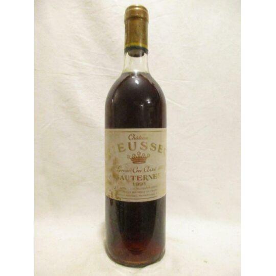 Sauternes Château Rieussec Grand Cru Classé Liquoreux 1991 - Bordeaux