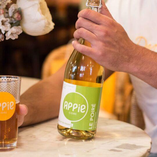 Cidre APPIE - LE POIRÉ (4.1%) - 75cl APPIE