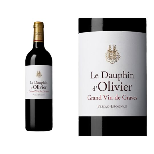 Dauphin D'olivier Rouge 2014 - Vin  Rouge