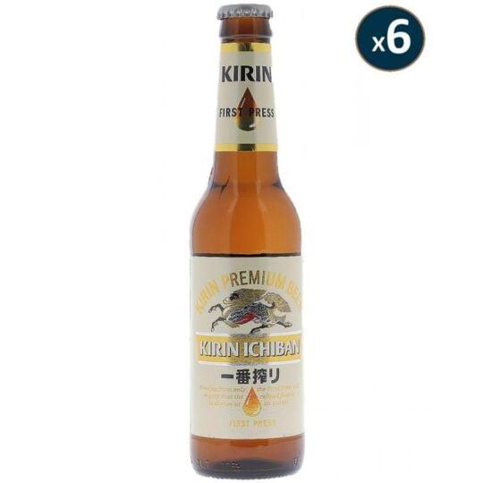 Kirin Ichiban 6*33cl KIRIN BREWERY