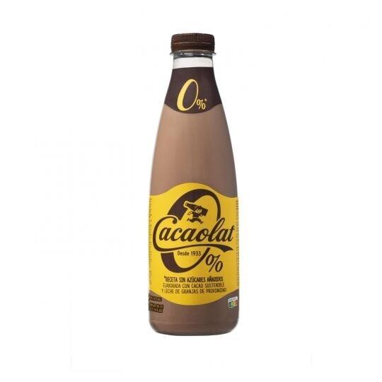Cacaolat 0 % Sans Sucre Ajouté Sans Gluten 1 L
