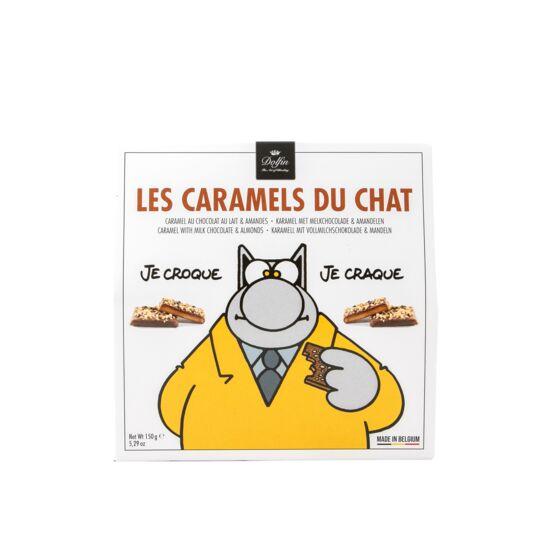 Les Caramels du Chat - Chocolat Au Lait Aux Amandes Caramélisées CHOCOLAT DOLFIN