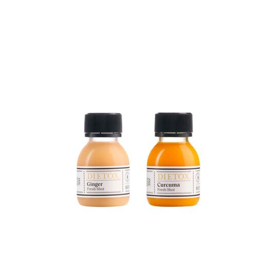 Shots Mix Ginger & Curcuma 14 Jours DIETOX