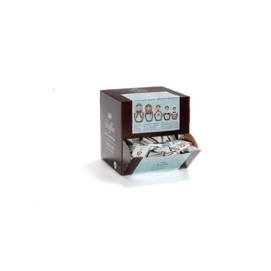 "Assortiment de carrés gourmands de chocolat ""Hiver"" - 6 saveurs (1800g) CHOCOLAT DOLFIN"