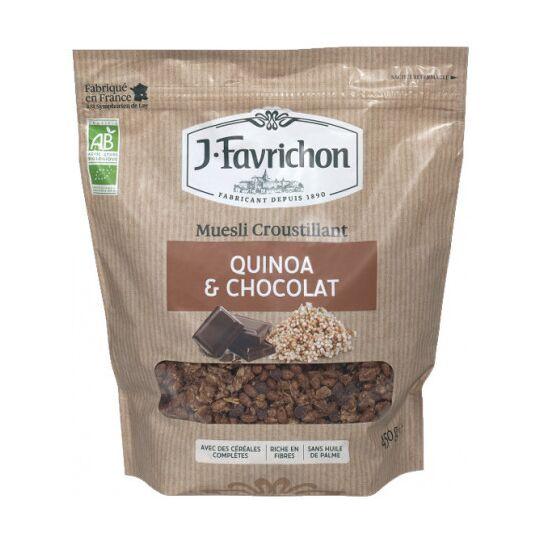 Muesli Croustillant Quinoa Chocolat FAVRICHON