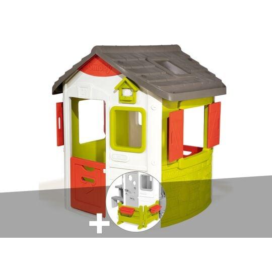 Cabane Enfant Neo Jura Lodge - Smoby + Espace Jardin SMOBY