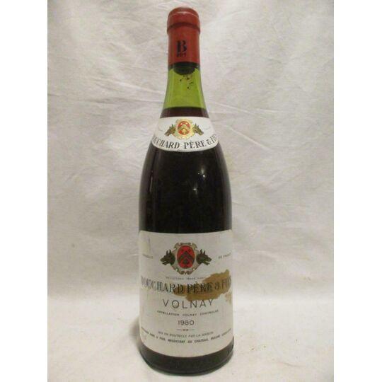 Volnay Bouchard Père Et Fils Rouge 1980 - Bourgogne BOUCHARD PÈRE ET FILS