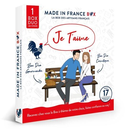 "Coffret Cadeau ""je T'aime !"" MADE IN FRANCE BOX"