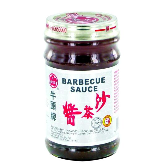 Sauce Pour Barbecue  127g - Multi-usage - Marque Bullhead - 2 Pots