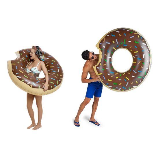 Bouée Gonflable Donut Géant Piscine Et Plage      Chocolat MAXY