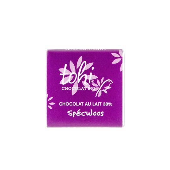 Carrés De Chocolat Bio Lait Au Spéculoos - Vrac 1800g CHOCOLAT TOHI