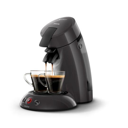 Machine à café à dosettes - HD6552/37 - Gris cachemire