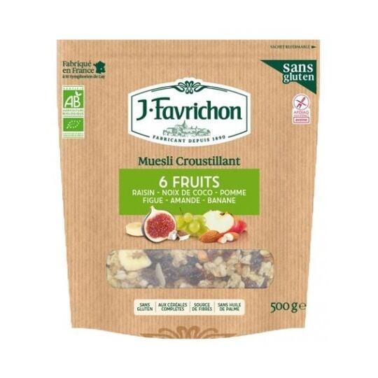 Muesli Croustillant 6 Fruits FAVRICHON