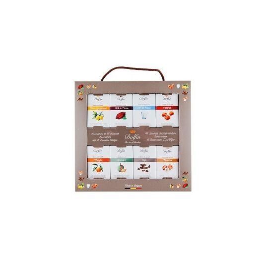Coffret de Voyage 48 Tablettes de chocolat 10g CHOCOLAT DOLFIN