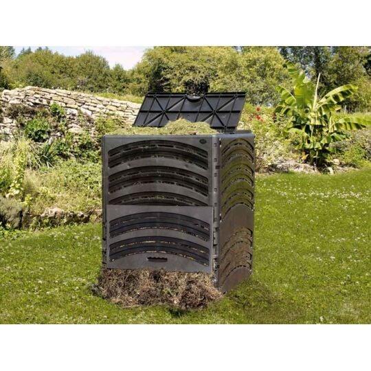 Composteur Compost'éco Noir 650 L BELLIJARDIN