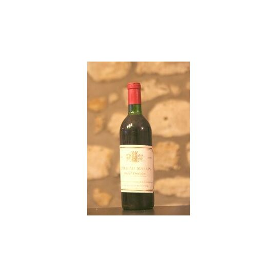 Vin Rouge, Chateau Marrin 1970 1970