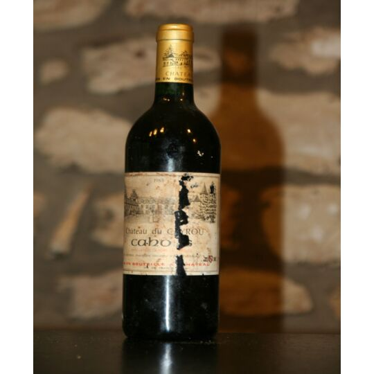 Vin Rouge, Cahors, Château Du Cayrou, Jouffreau 1988