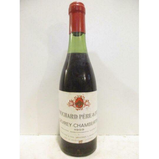 37,5 Cl Gevrey-chambertin Bouchard Père Et Fils (b3) Rouge 1959 - Bourgogne BOUCHARD PÈRE ET FILS