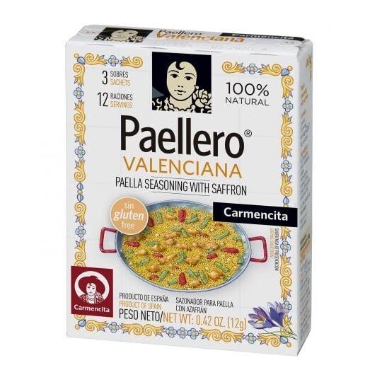 Epices Pour Paella Valenciene Carmencita 12 Rations