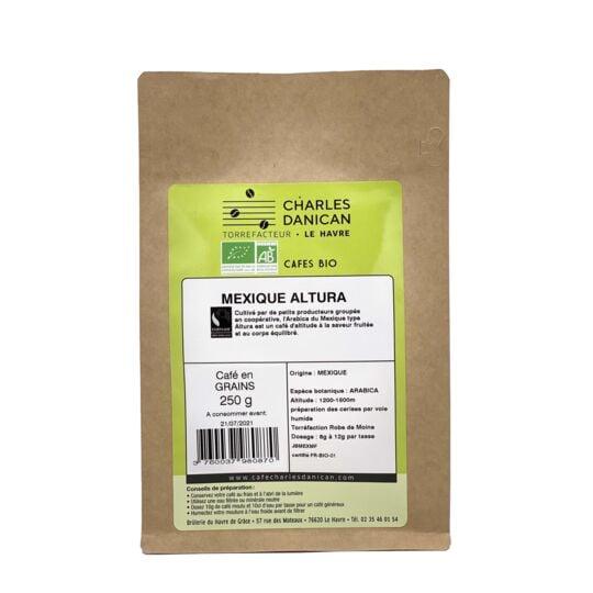 Café Mexique Bio 250g Grains