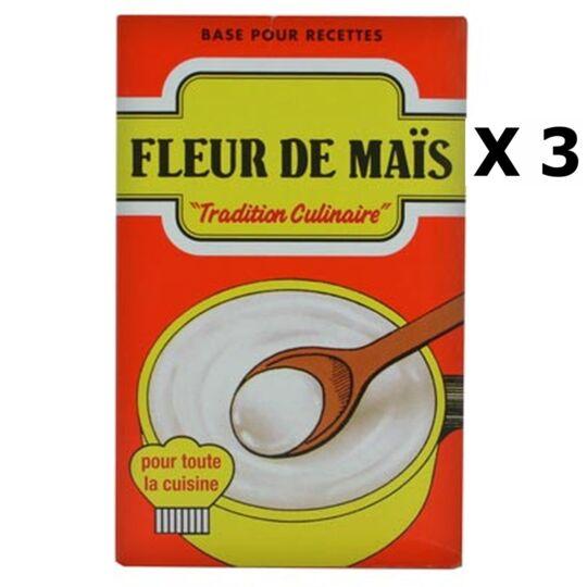 Lot 3x Fleur De Maïs - Sans Gluten - Boîte 350g AGIDRA