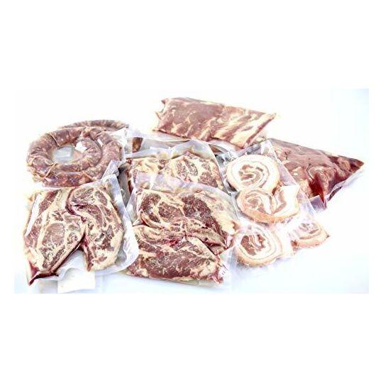 Colis de viande de porc noir Direct Eleveur - Porc Noir Gascon JEMANGEFRANÇAIS.COM