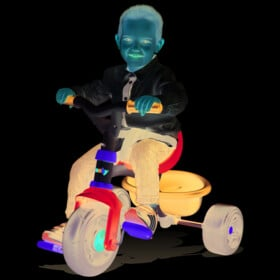 SMOBY S.A. Tricycle be fun bleu