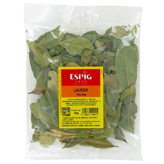 Laurier en feuilles Tej patta indien 20g ESPIG