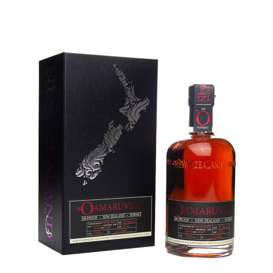 New Zealand Whisky (the) 18 Ans Oamaruvian 100 Proof