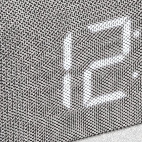Radio-réveil digital - PSCR12 - Blanc