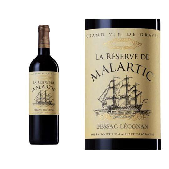 La Réserve De Malartic Rouge 2016 - Vin  Rouge